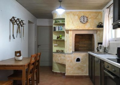6-Villa Antonis - Kitchen or kitchenette, Dining area